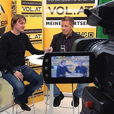 Horst Elsner stellte sich den Fragen zum Vorarlberger Fußball.