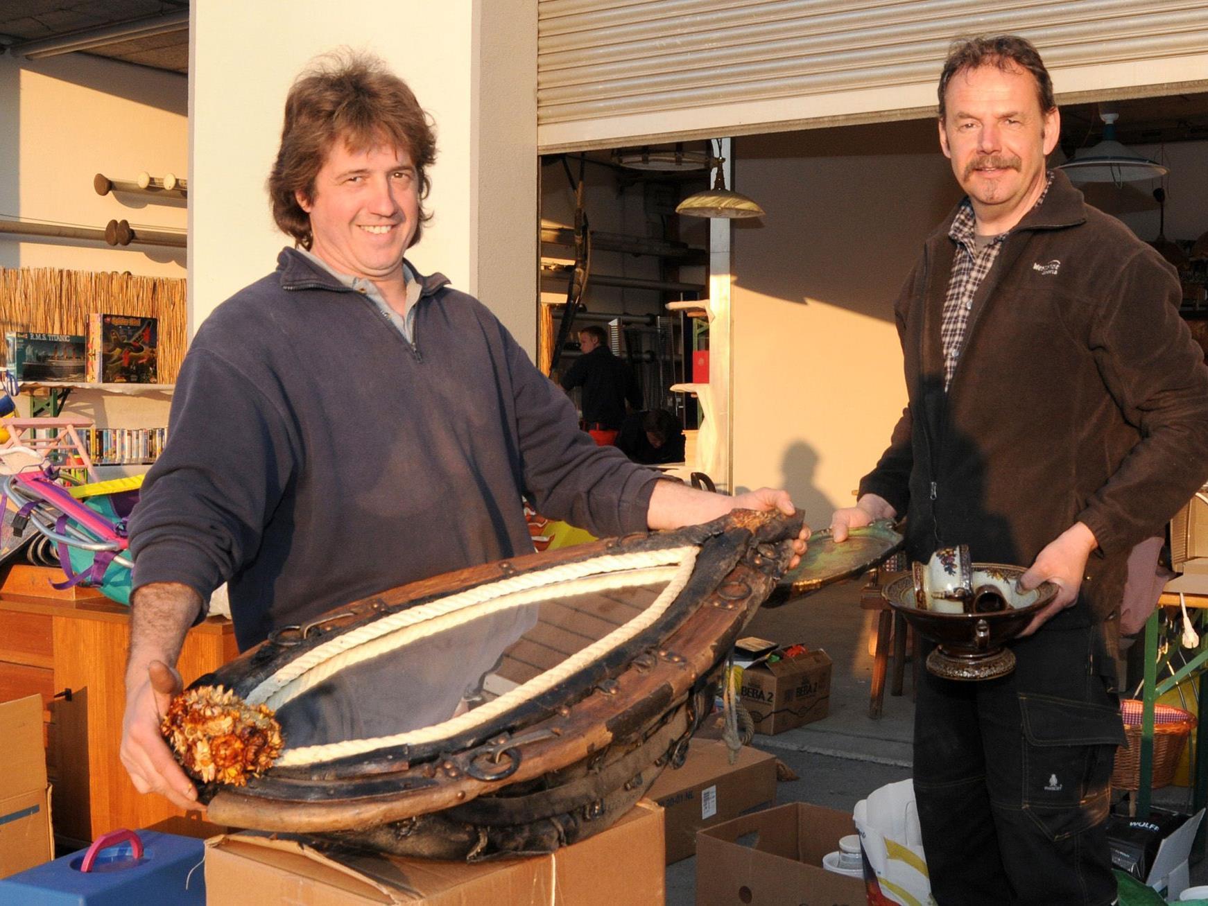 Am Samstag, den 24. März, wird beim Flohmarkt im Bauhof Höchst allerhand angeboten.