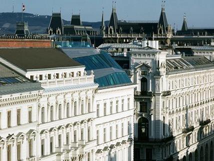 Die Wiener bevorzugen sanierte Albauprojekte wie hier im Rathausviertel.
