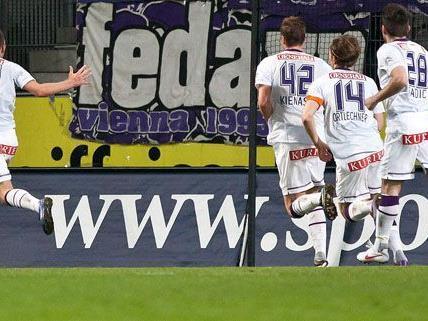 Die Wiener Austria konnte sich mit 1:0 gegen Wacker Innsbruck durchsetzen.