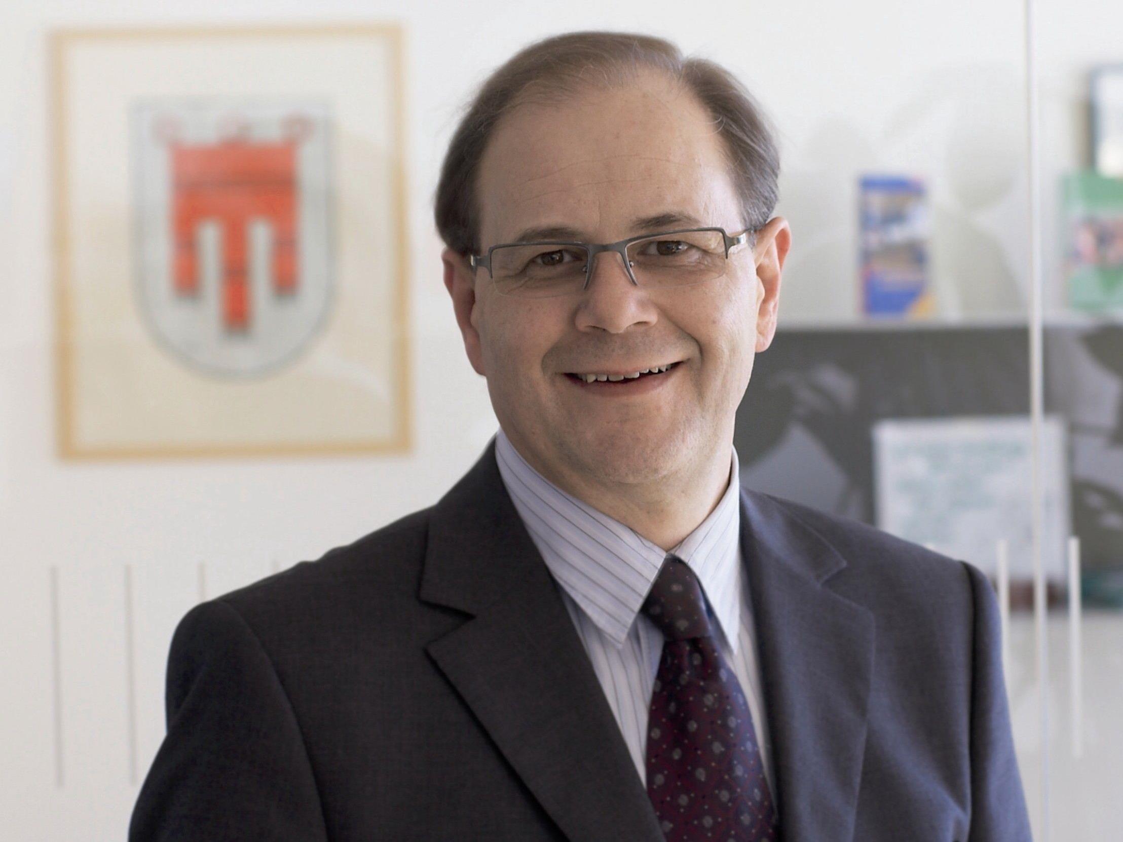 Bürgermeister Reinhard Nachbaur