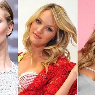 Blondes Haar liegt im Frühjahrstrend.