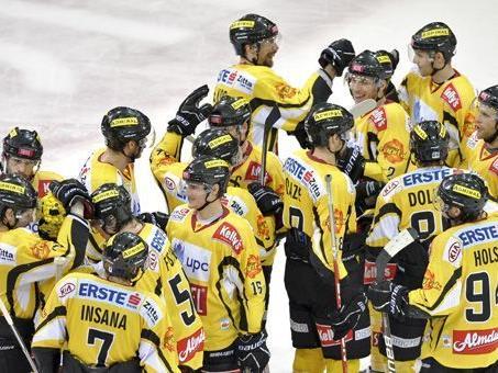 Die Vienna Capitals kämpften sich gegen Linz zurück.