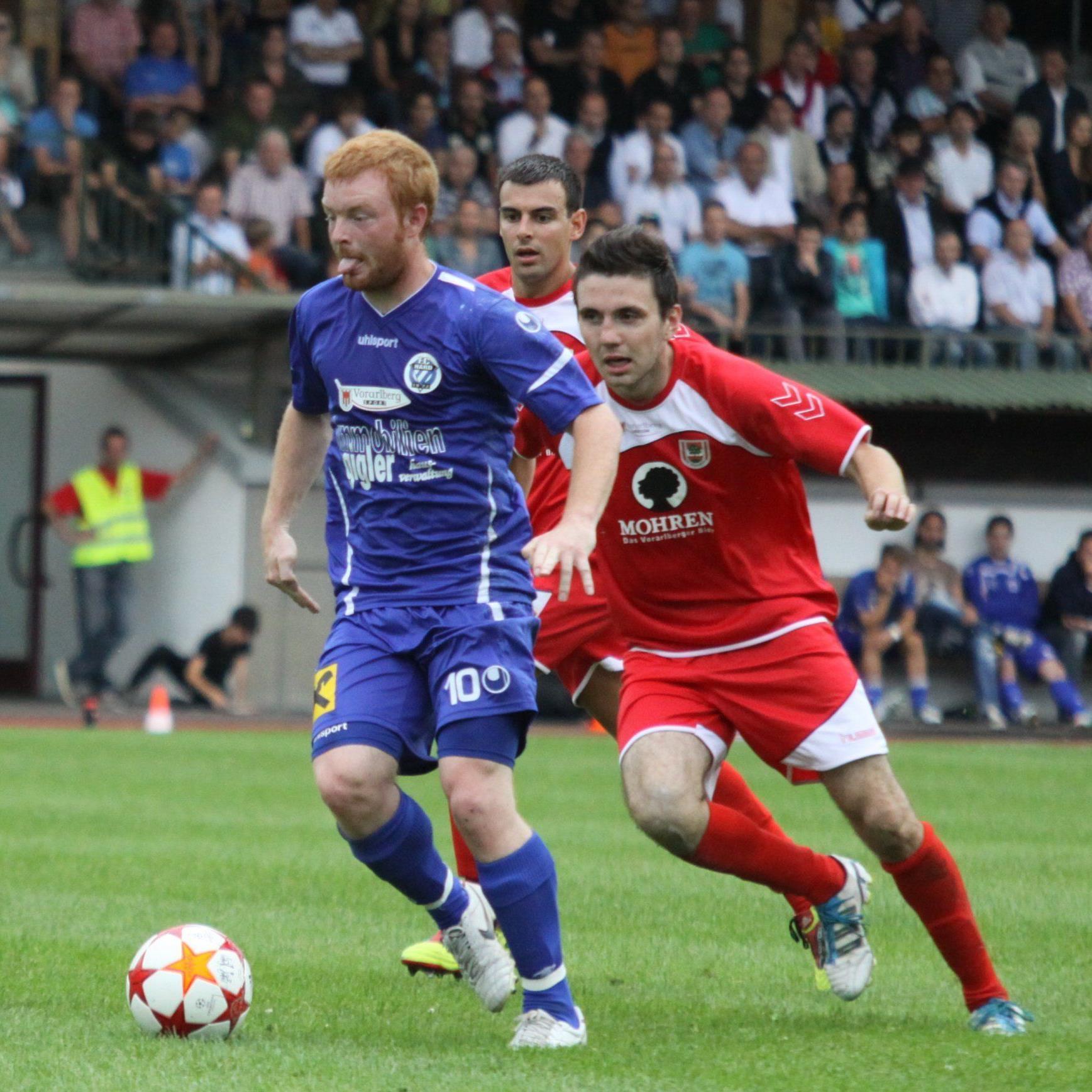 Sechs Tore für FC Hard im letzten Test gegen RW Rankweil.