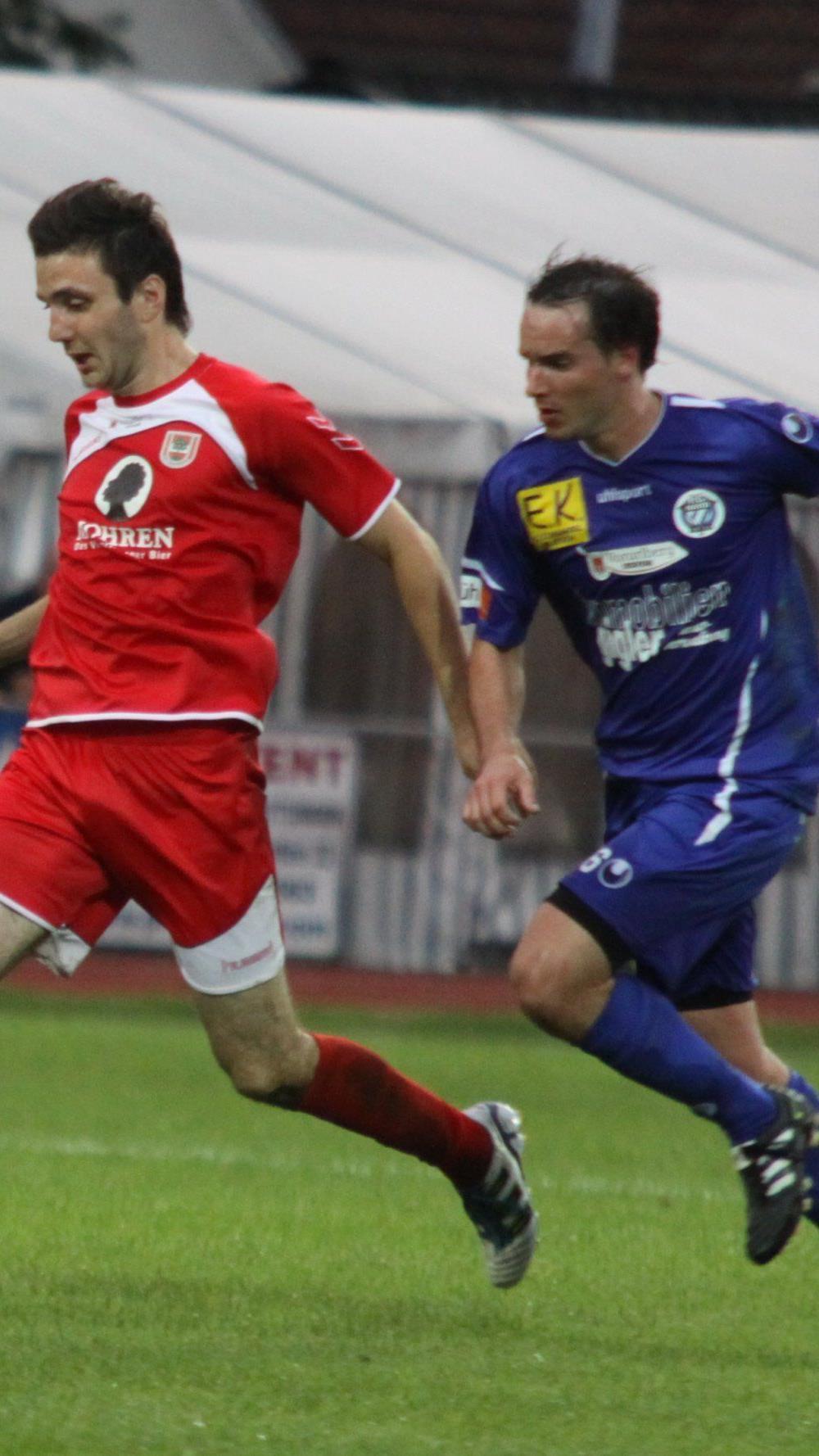 Hard gegen FC Dornbirn wird am Samstag im Waldstadion ausgetragen.