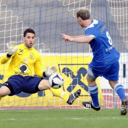 SC Bregenz holt im Heimspiel gegen Saalfelden nur einen Punkt.