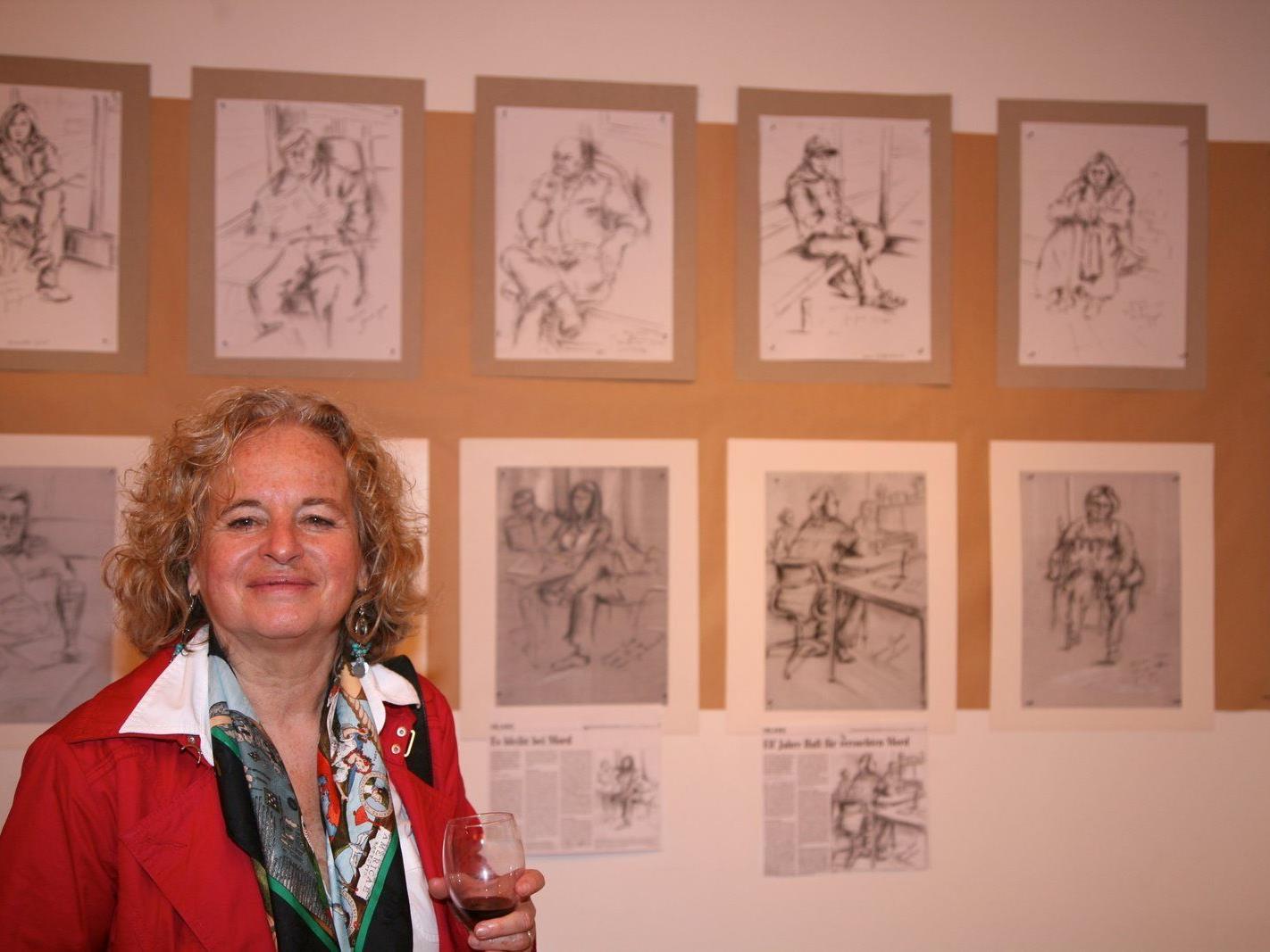 Künstlerin Giovanna Gould stellt in Liechtenstein aus.