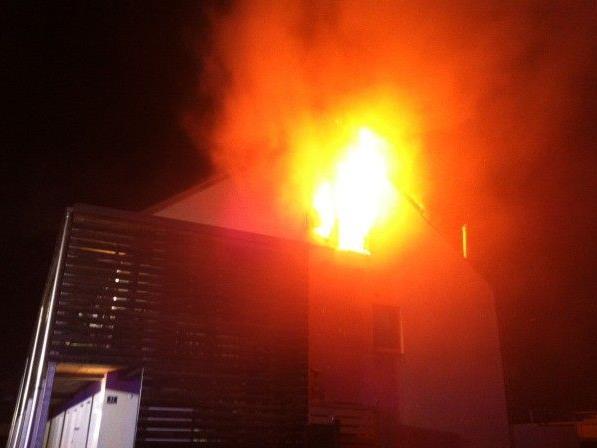 Brand sorgte für Großeinsatz der Feuerwehren.