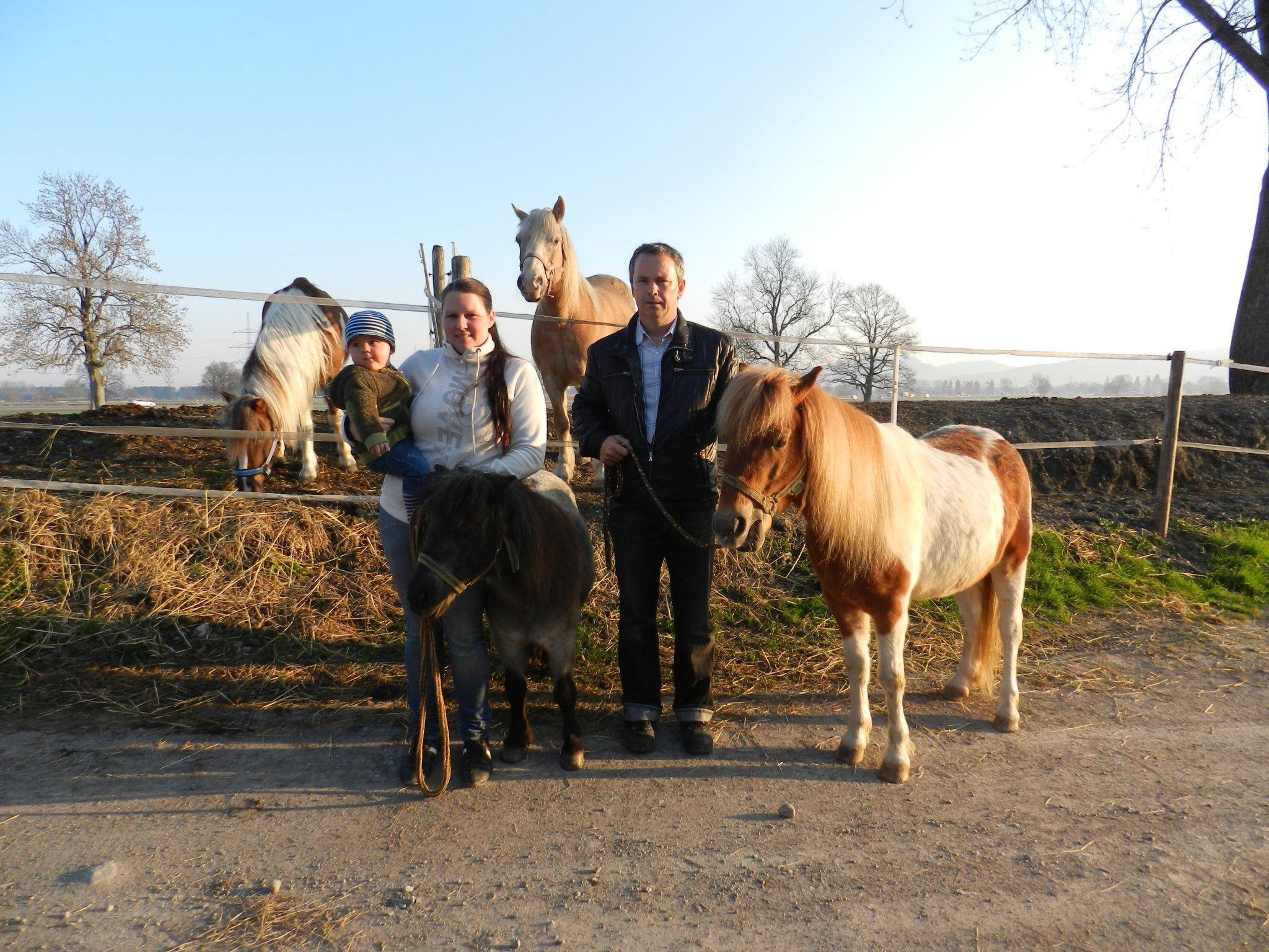 Die Familie Nicolussi lebt für den Verein und für den Pferdesport.