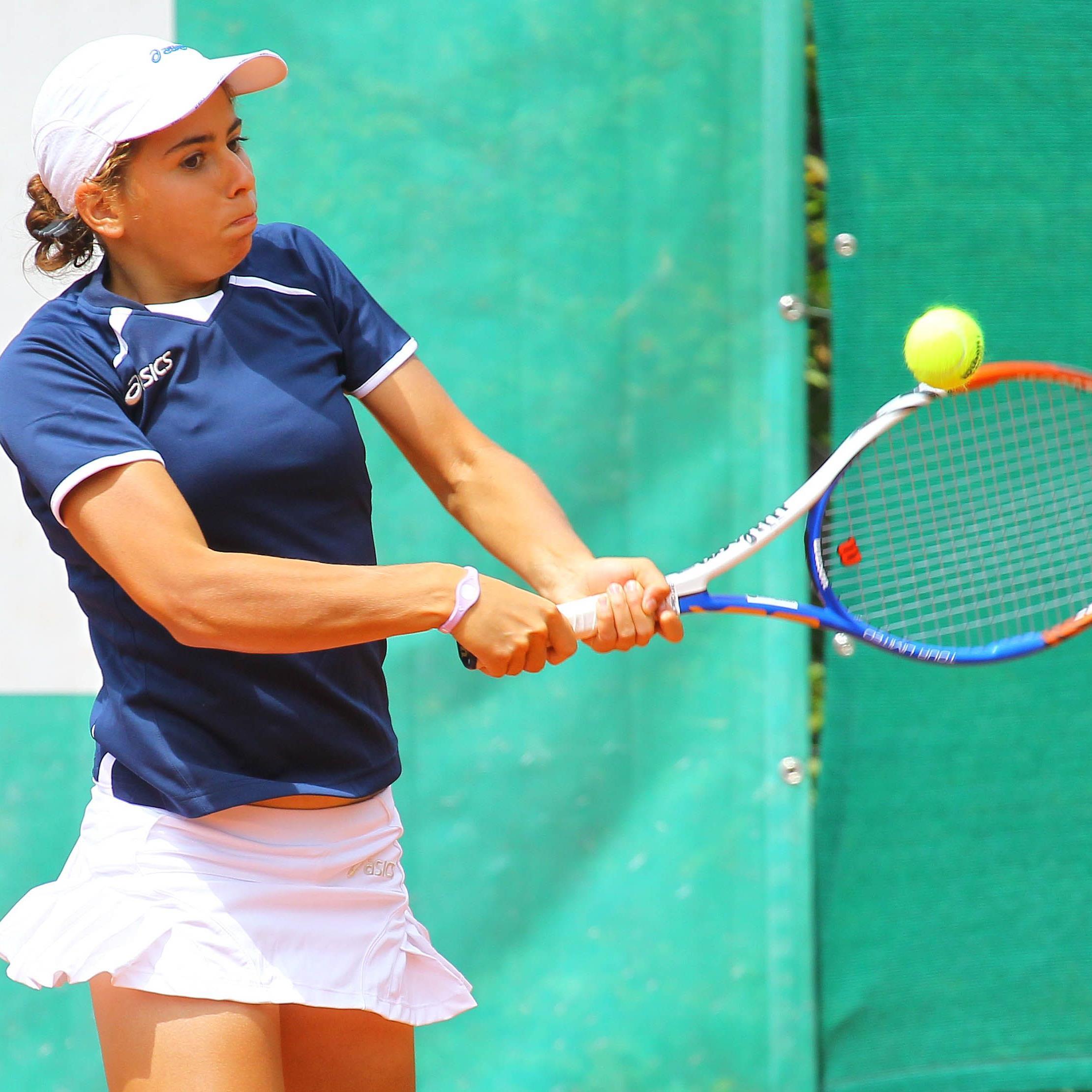 Dornbirnerin Julia Grabher holt Gold im Doppel und im Einzel.