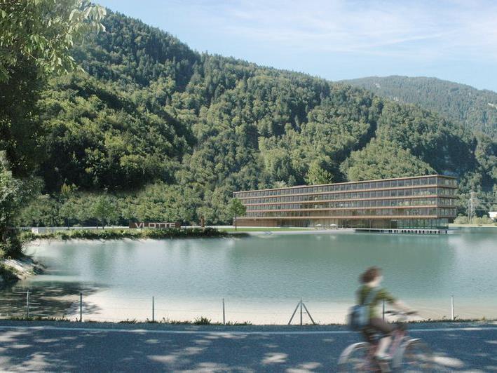 Wird an diesem Abend auch vorgestellt - der Neubau des Bürogebäudes in Rodund.