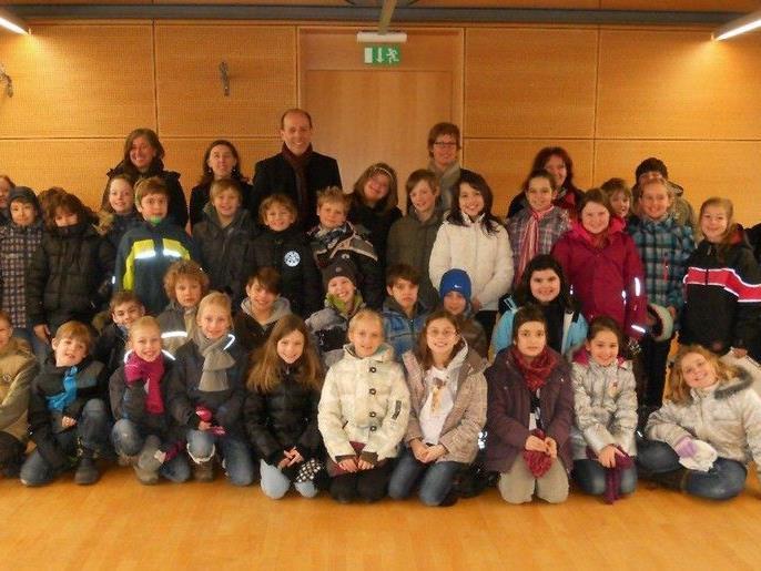 Kinderkonferenz der dritten Klassen der Volksschule Bregenz-Stadt