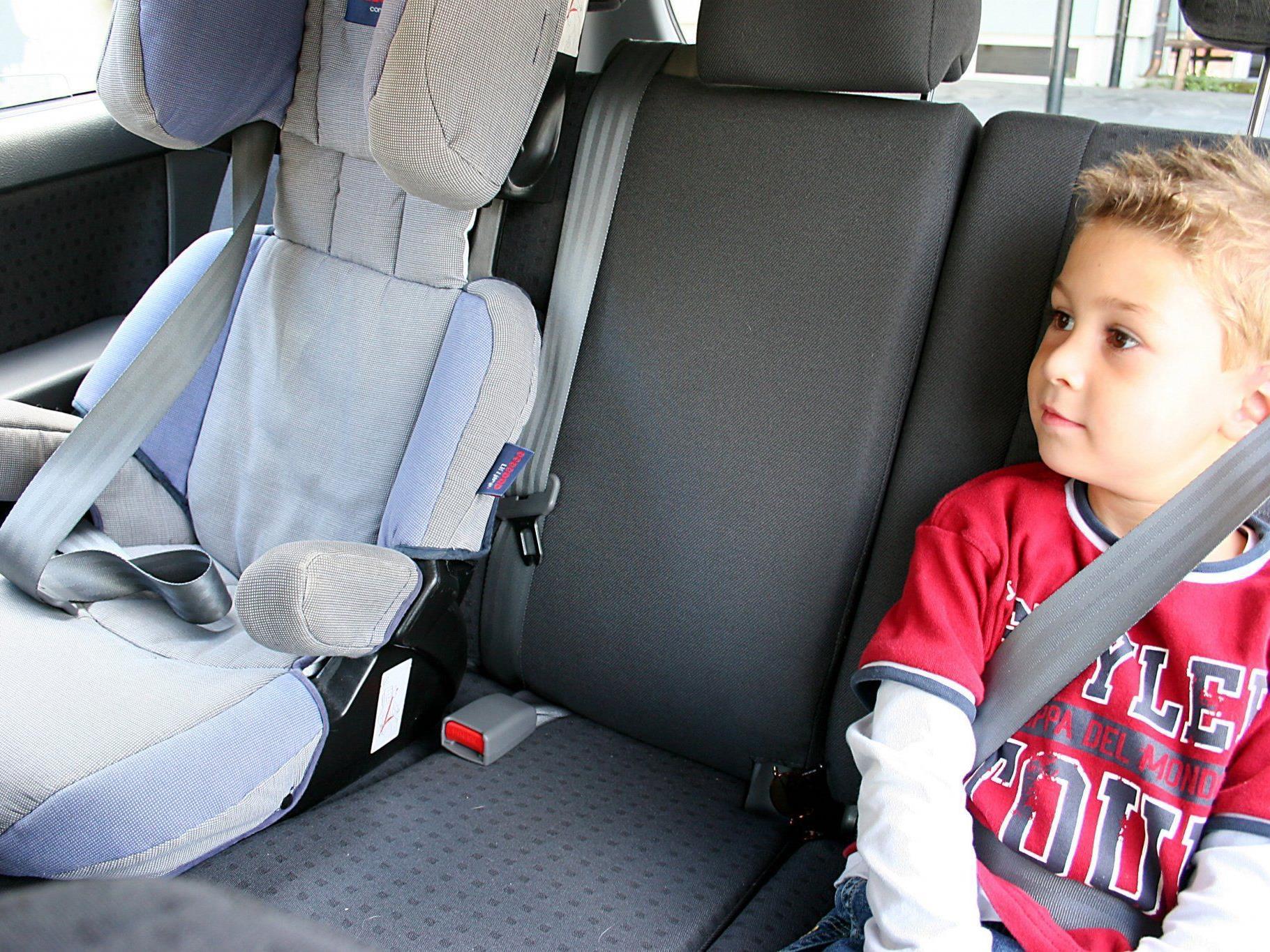 Vorarlberg: Kindersicherheit im Auto könnte besser sein.