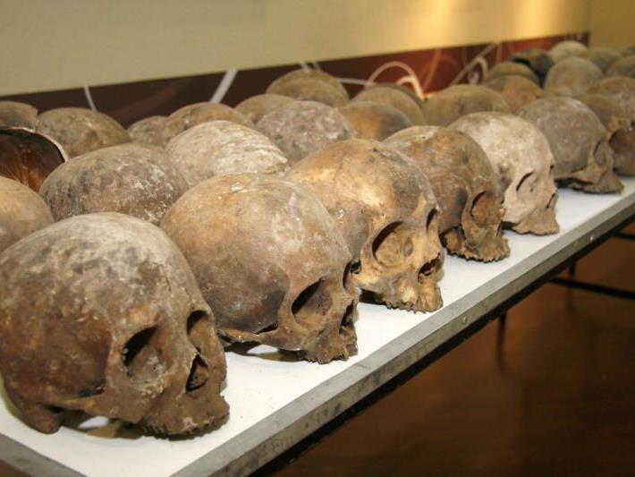 Überreste von 167 Menschen gefunden