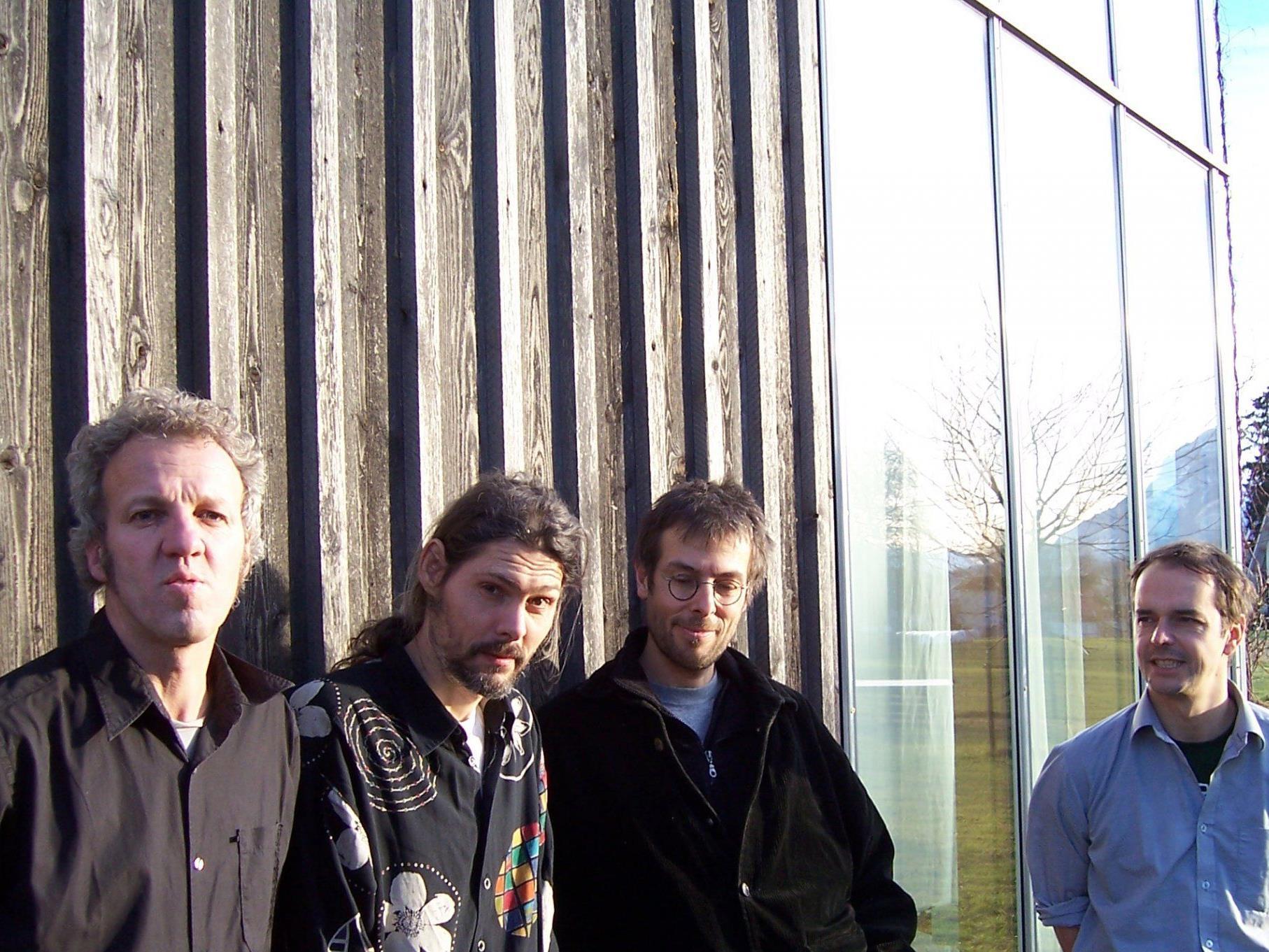 """Die Vorarlberger Band """"Mose"""" schuf die Musik-Untermalung für den Stummfilm """"Schlagende Wetter""""."""