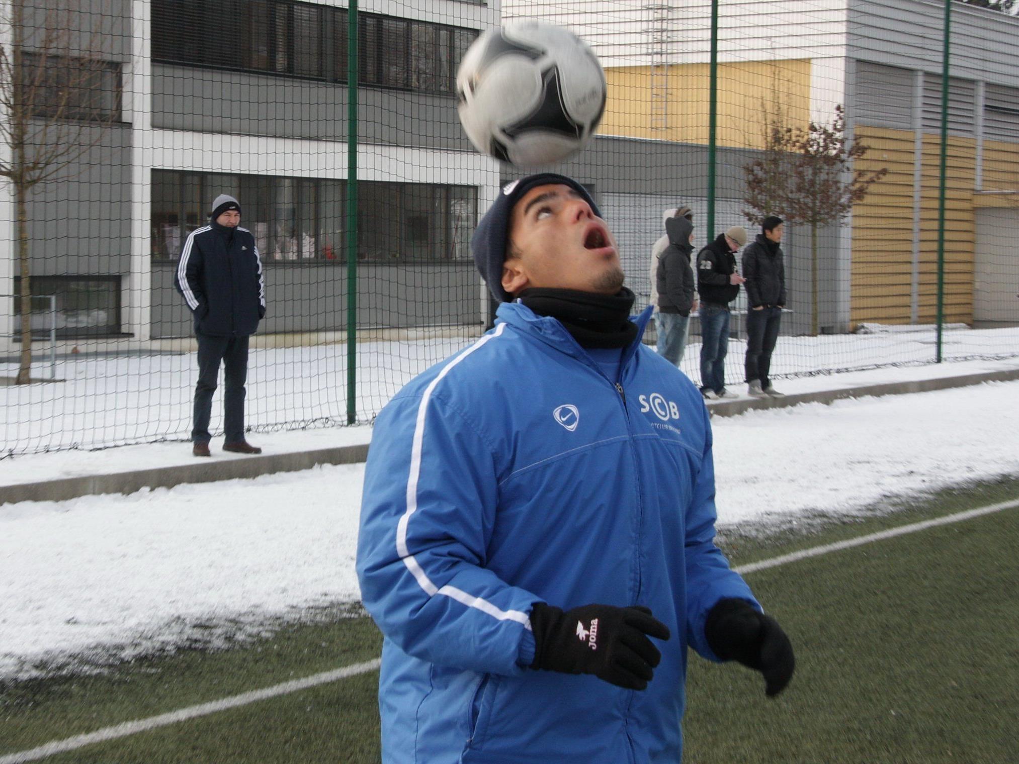 Vinicius Gomes Para spielt erstmals im Casinostadion und hofft auf Tore gegen Altach Amateure.