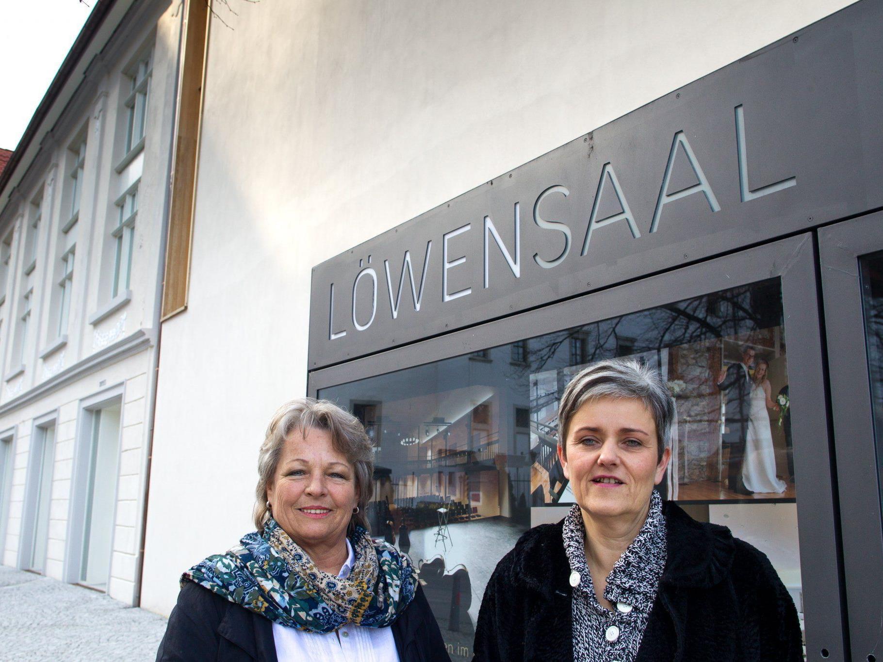 Ein dynamisches Duo: Isabella Tschemernjak und Gabriele Ammann.