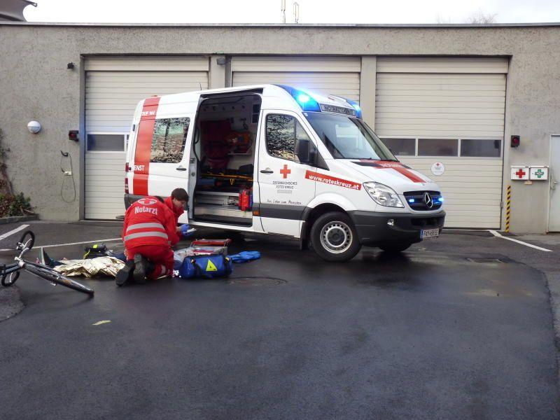 Bei Arbeitsunfall in Feldkirch Hand abgetrennt