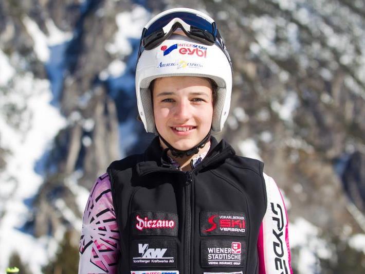 Pia Schmid aus Hohenems gewann in Mellau.