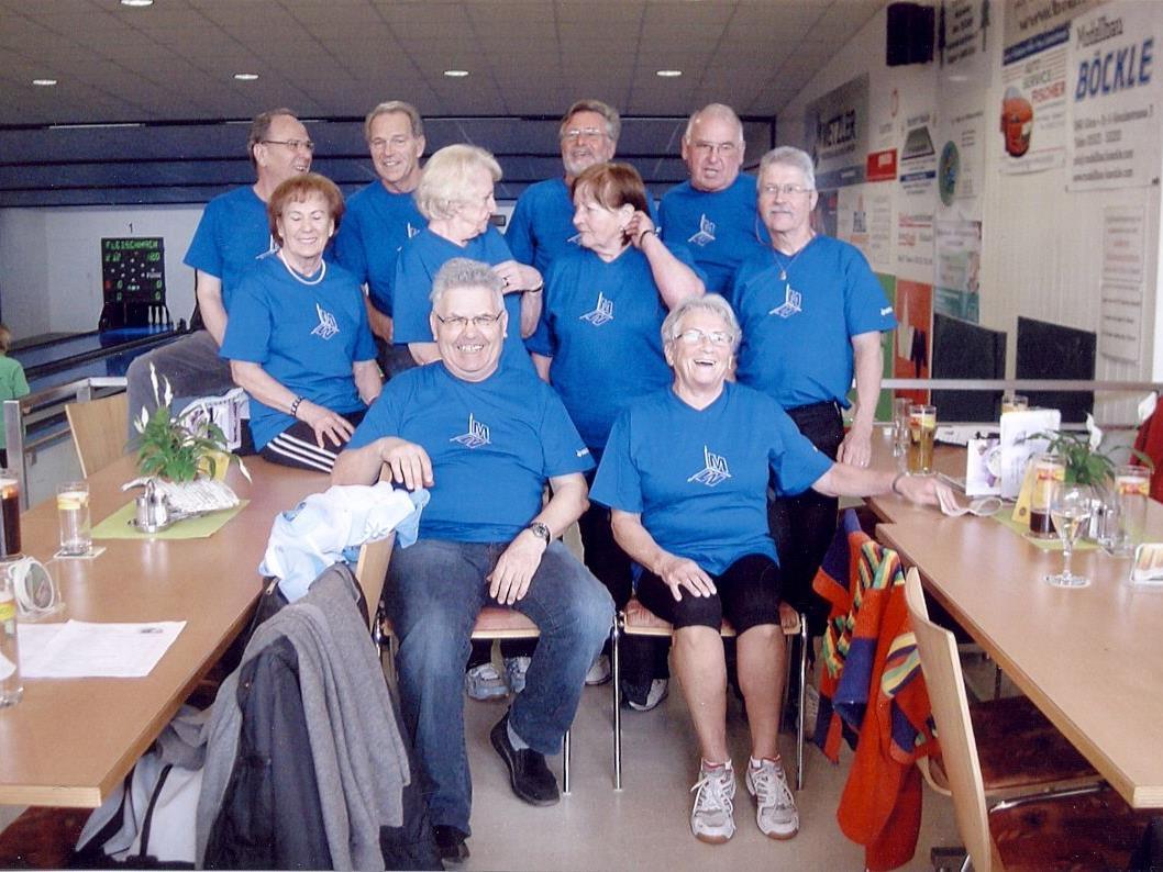 Seniorenbund Feldkirch erfolgreich bei Landeskegelmeisterschaft 2012.