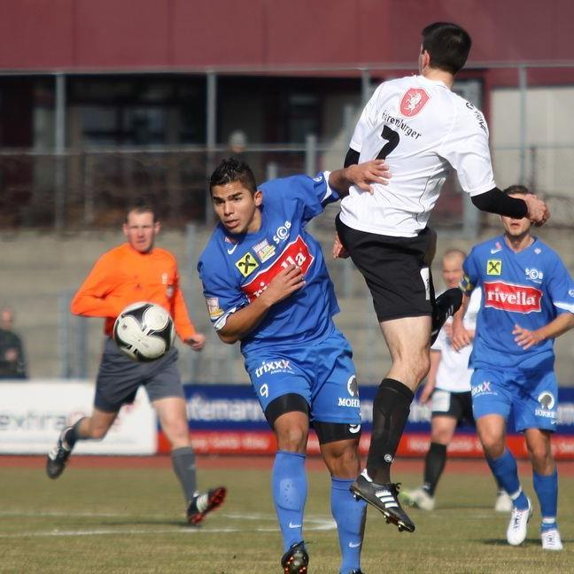 Vinicius Gomes Para erzielte das 2:1 für Bregenz.
