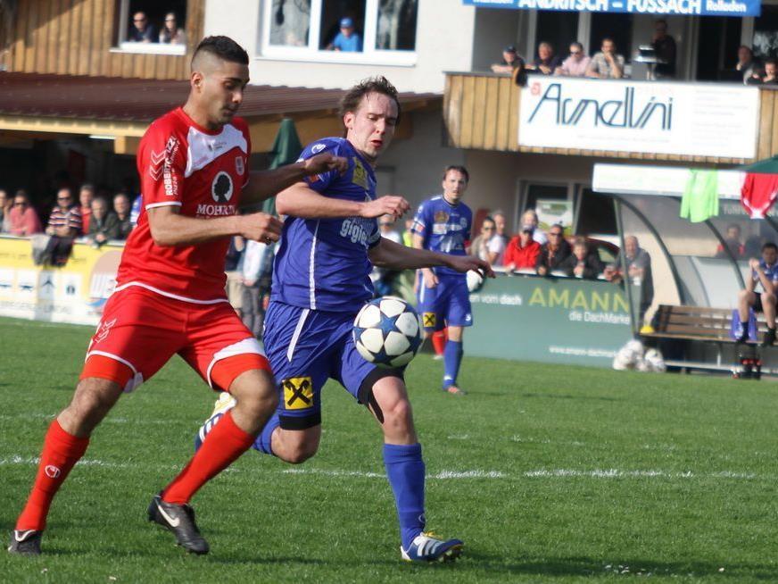 Spielfreudig präsentierte sich Torschütze und Eigenbau Direnc Borihan beim 4:1-Derbyerfolg.