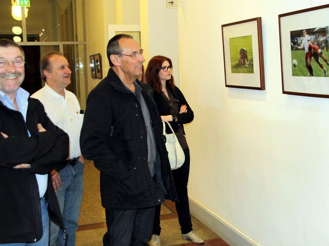 Viele Besucher kamen zur Vernissage ins Landeskonservatorium und waren hochzufrieden.