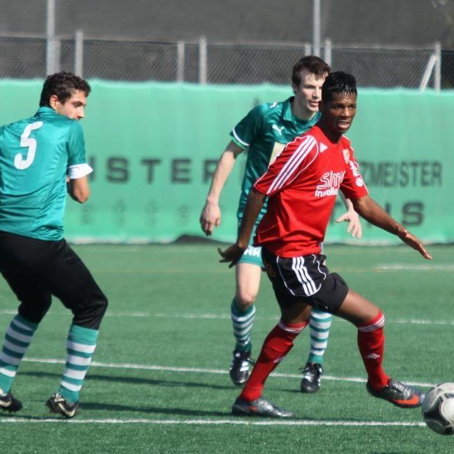 Simon Installationen FC Mäder unterlag im Test Alberschwende.