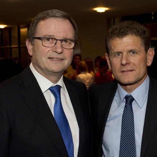 Horst Lumper wird das Aamt des Präsidenten weiterhin ausüben.