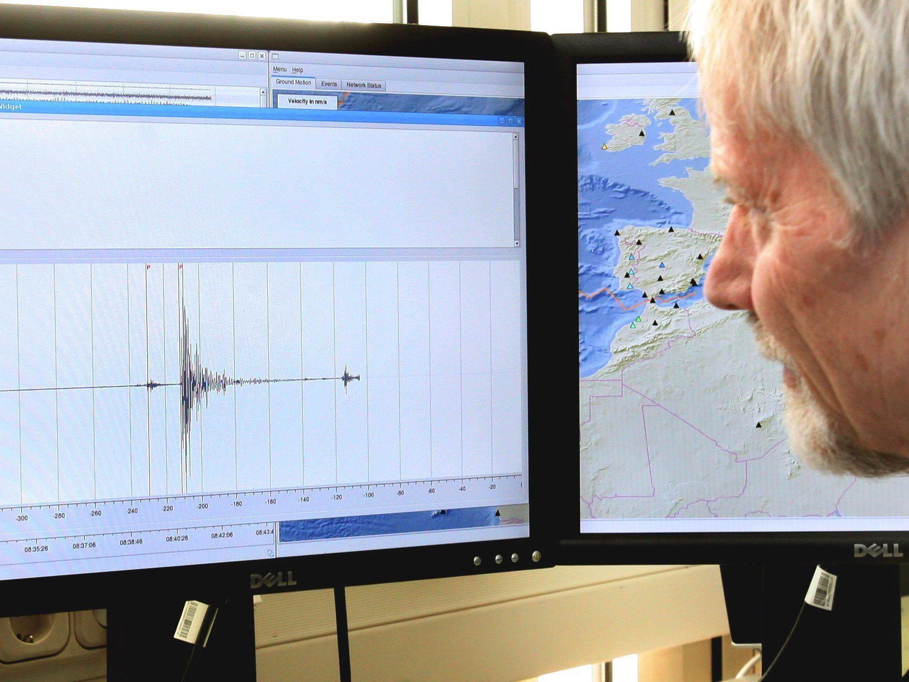 Die schwersten registrierten Erdbeben seit 1900.