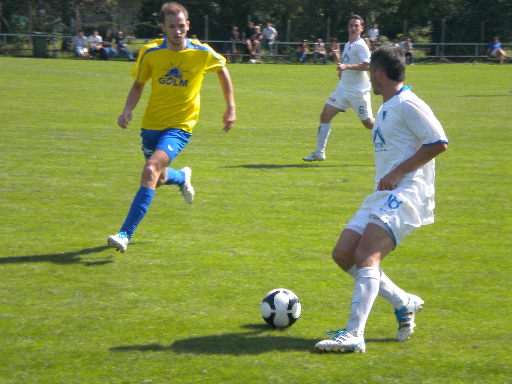 Der Golm FC Schruns verliert das Heimspiel gegen Koblach knapp mit 1:2