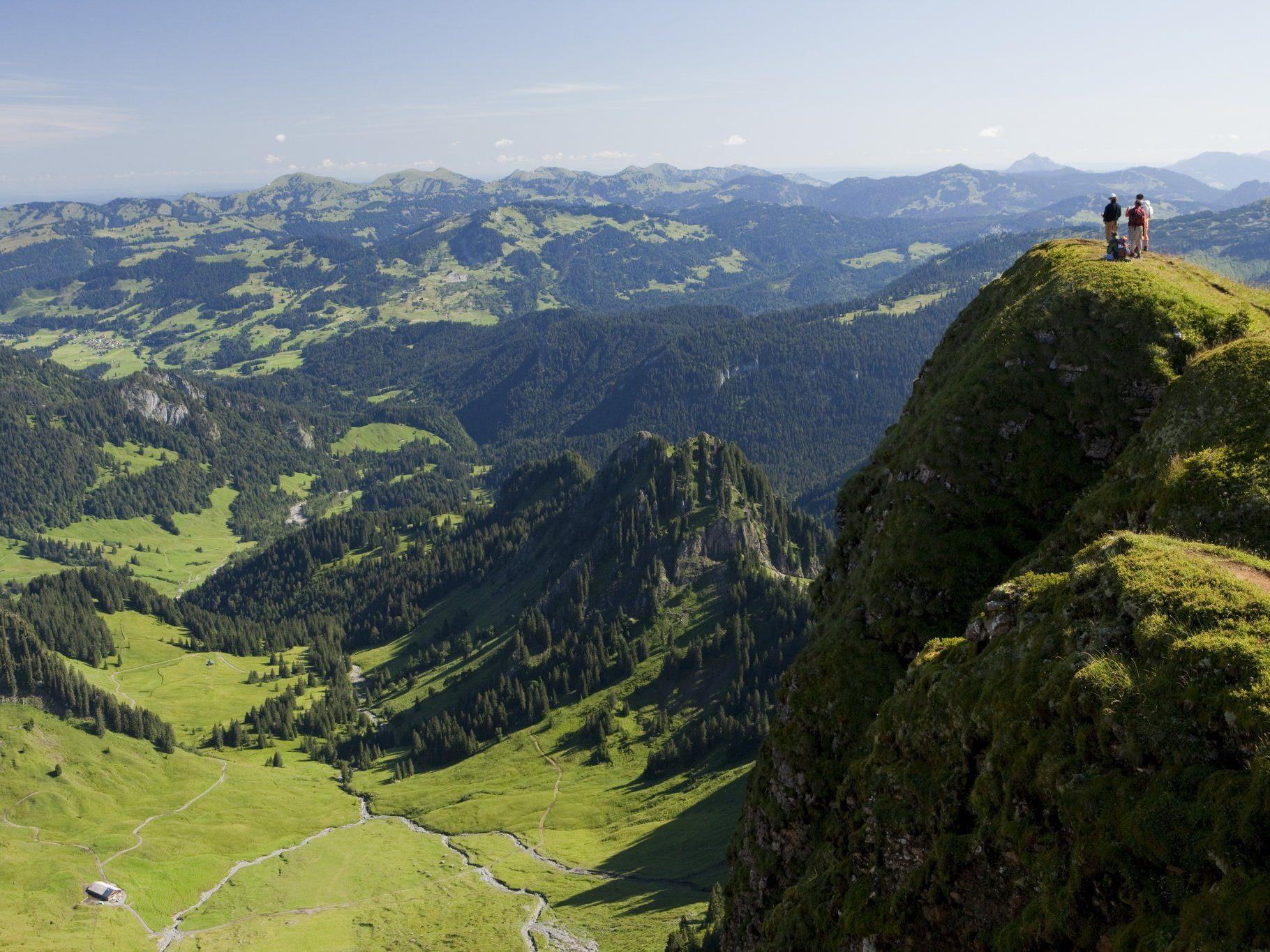 Schöne Aussichten mit der Bregenzerwald Saison Card