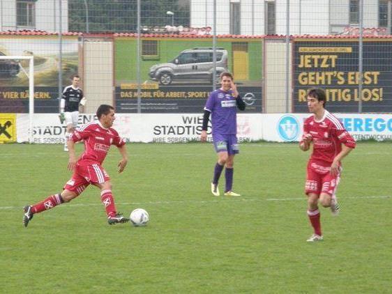 Ueverton da Silva & Co. mussten sich in Bregenz erneut geschlagen geben.