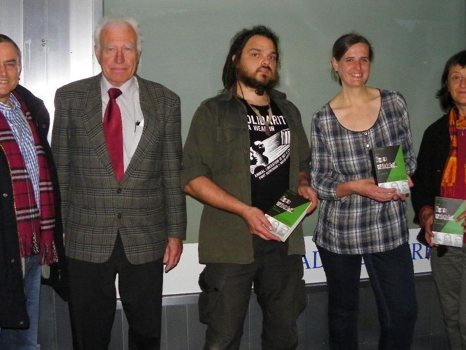 Dr. Max Siller,  Dr. Bernd Haberditzl,  Autor Chris Moser, Daniela Lais, Irene Selhofer