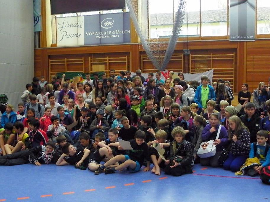 17 Schulklassen nahmen am Fair Play Völkerball teil