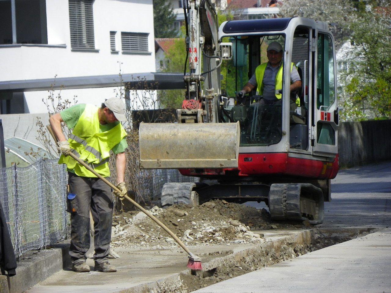 Hauptwasserleitung wird saniert
