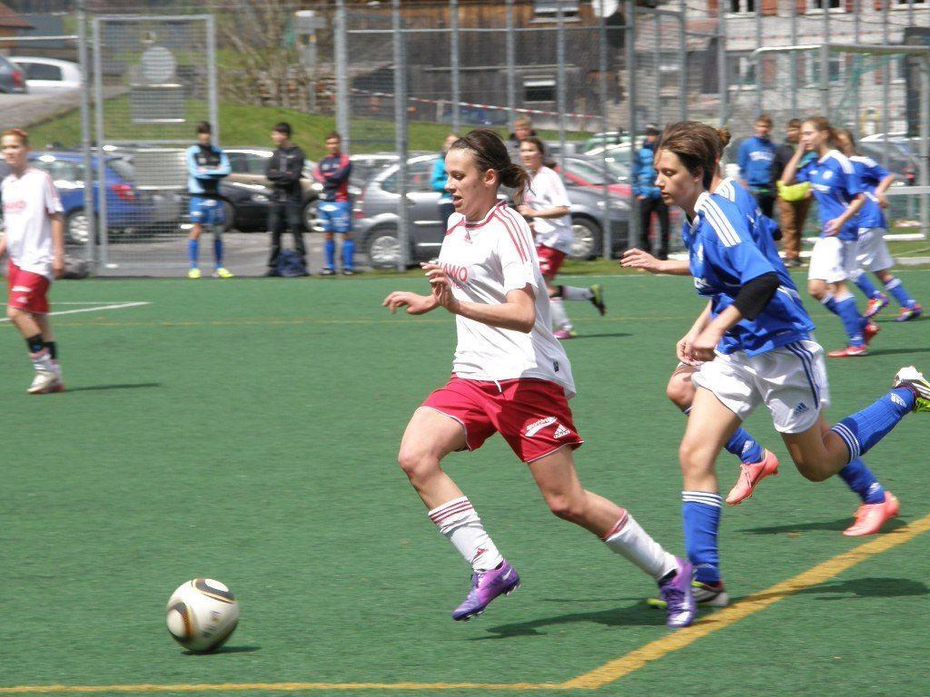 Marika Rietzler erzielte einen Treffer für die Mellauerinnen