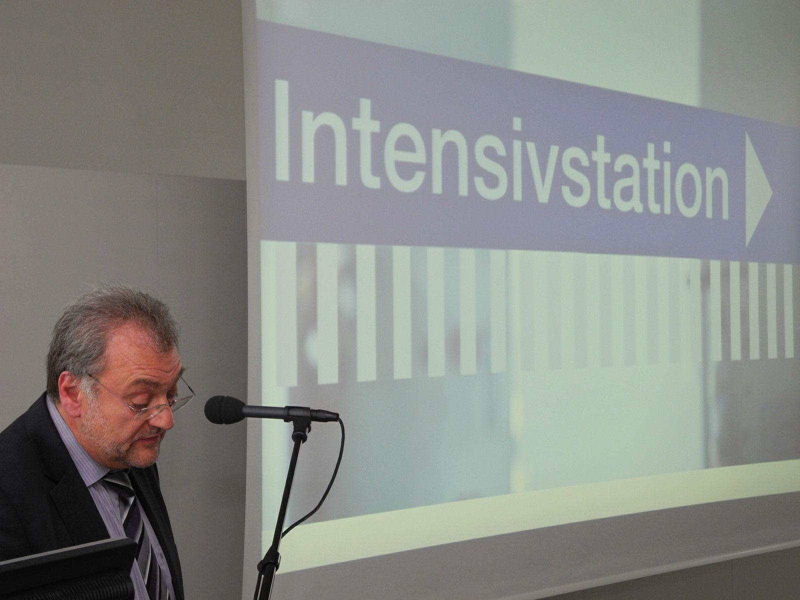 DGKP Dieter Morscher leitete die Sonderausbildung für Intensivpflege in der Krankenpflegeschule Feldkirch