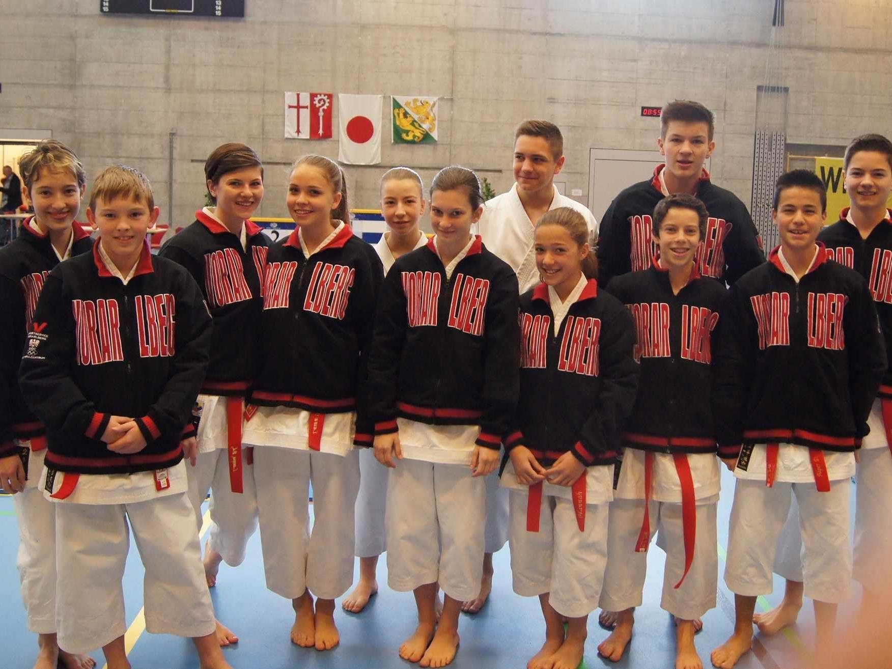 Acht Medaillen holten die hoffnungsvollsten Nachwuchssportler im Karate.
