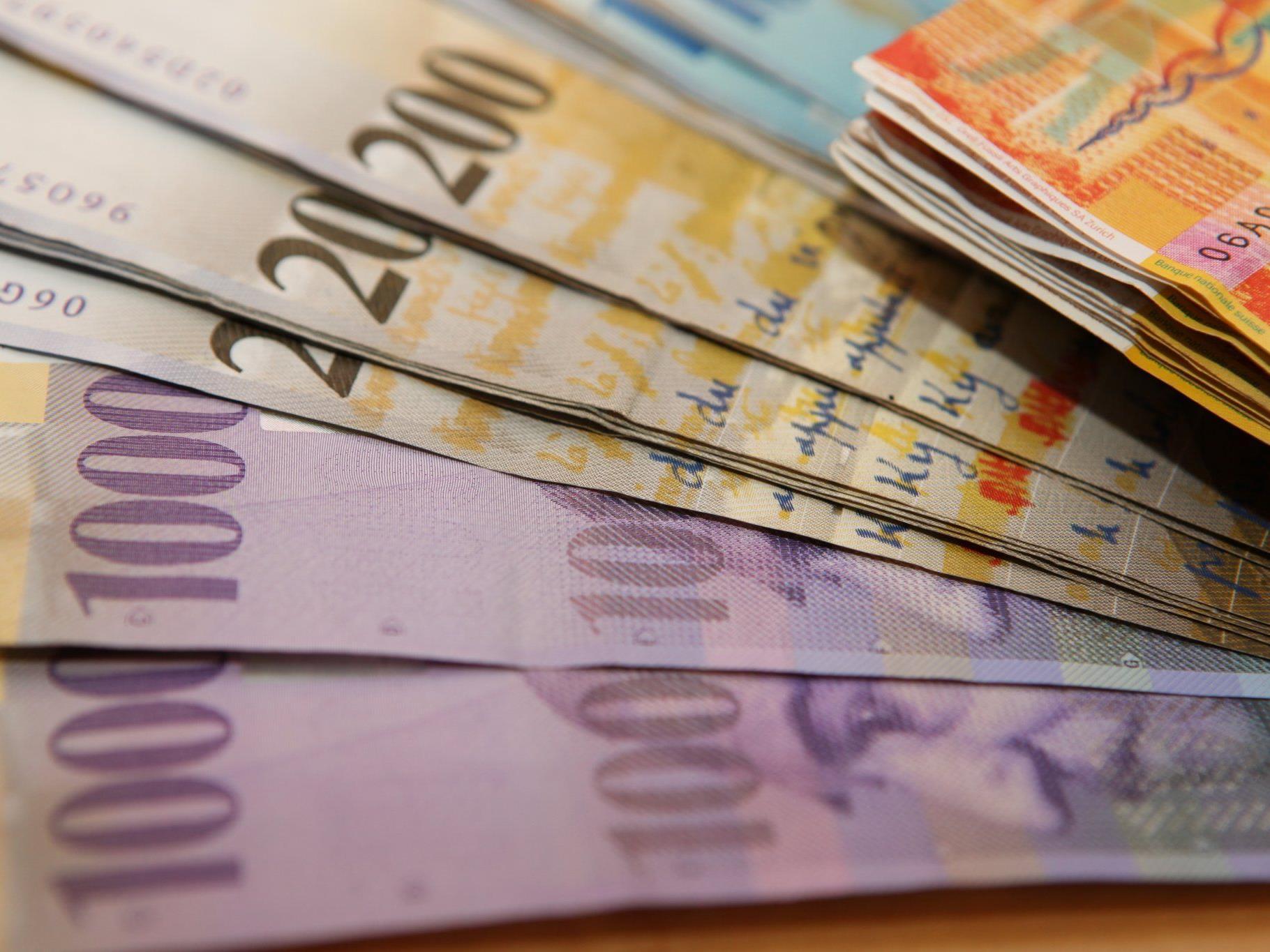 Notwendigkeit einer weiteren Schwächung der Schweizer Währung befürchtet.