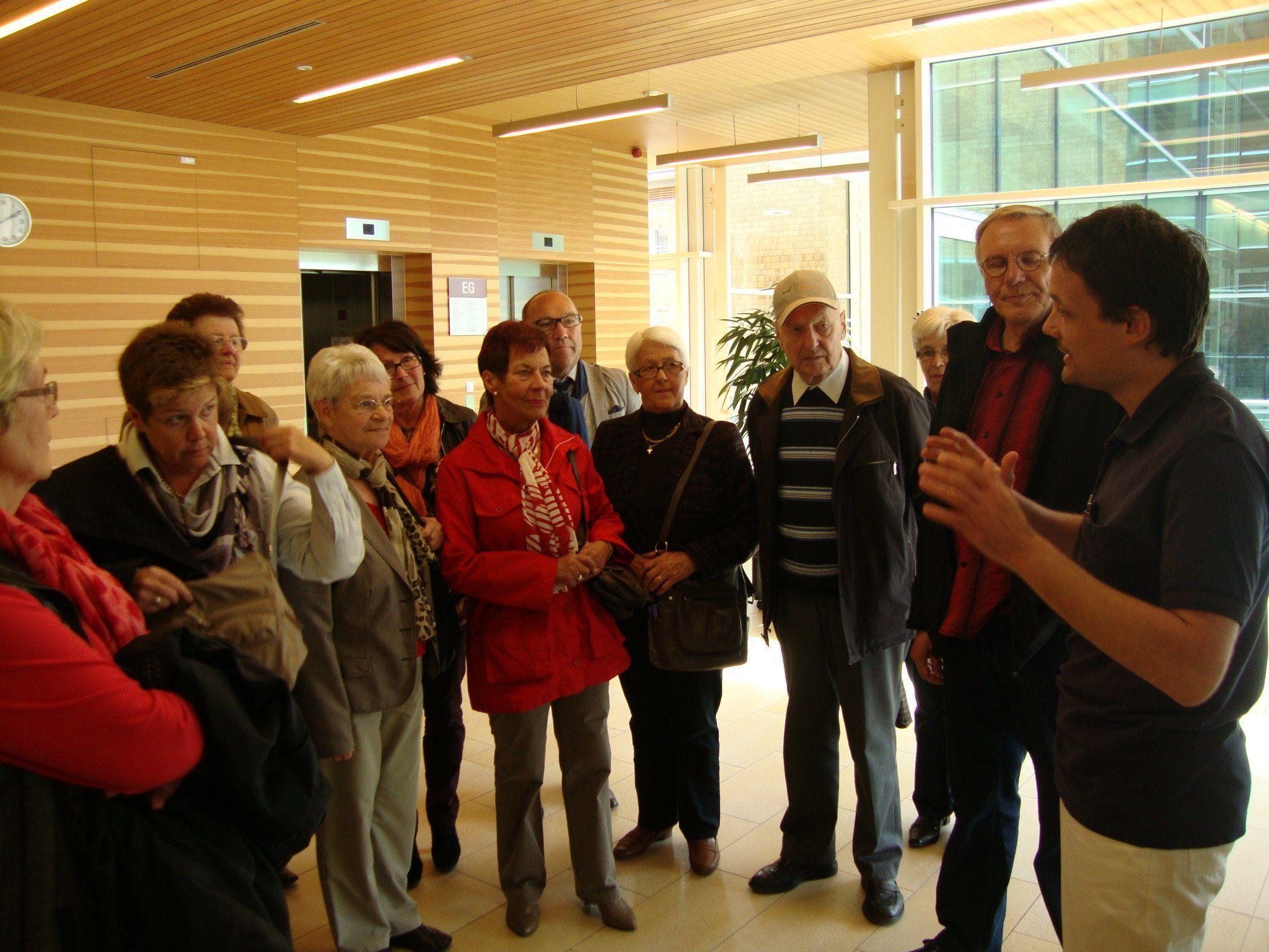 Ludescherr Seniorenbund besucht die REHA-Klinik Schruns