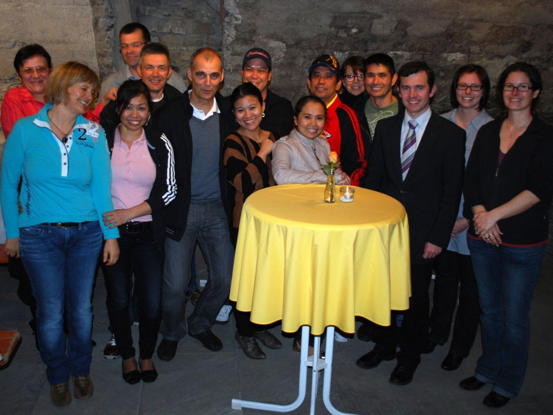 """25-Jahr-Feier """"Essen auf Rädern"""" im Rankweiler Rathauskeller"""