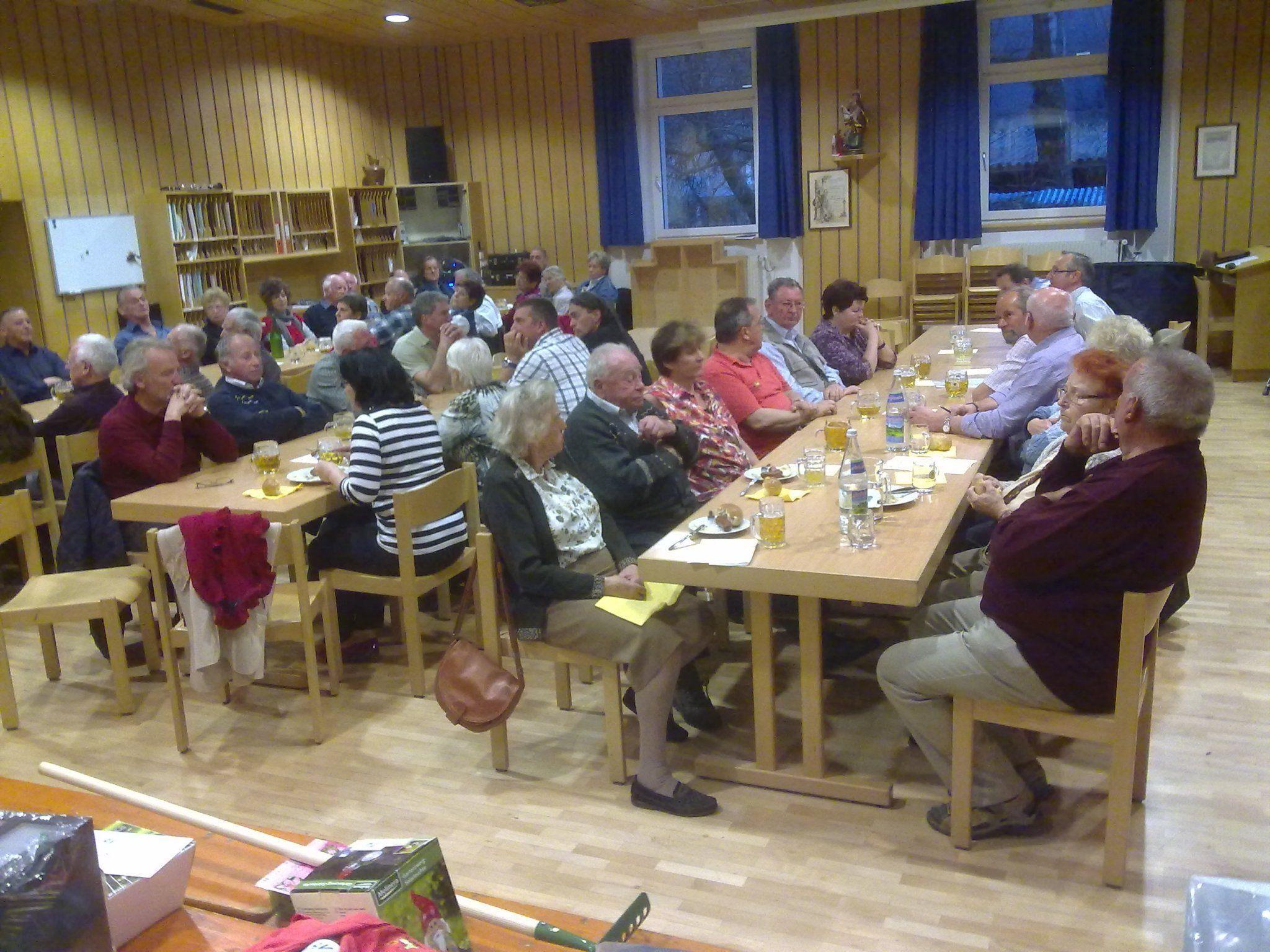 Mitgliederversammlung bei der JHV