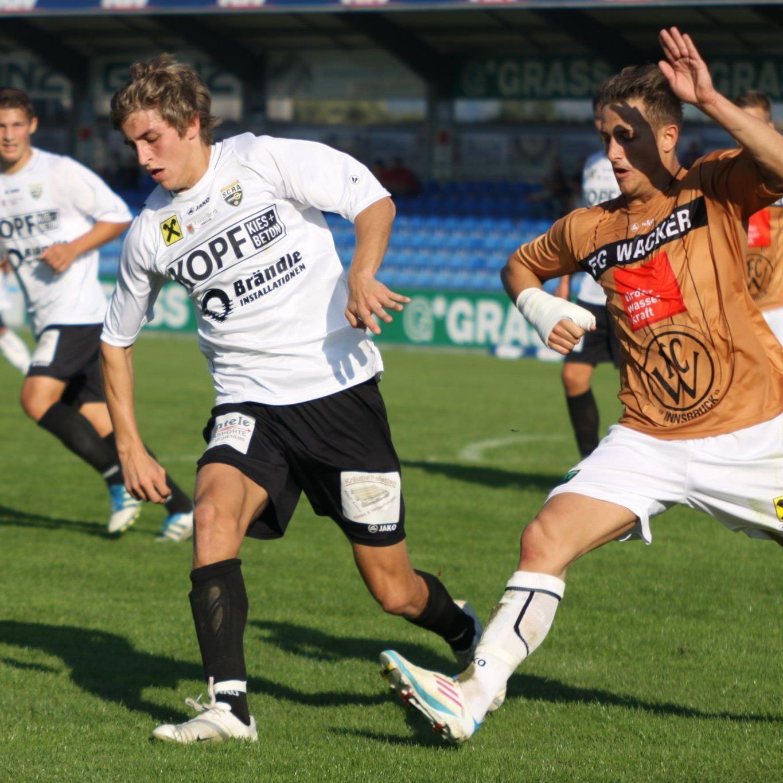 Marc Kühne konnte die 0:4-Pleite in Kufstein auch nicht verhindern.