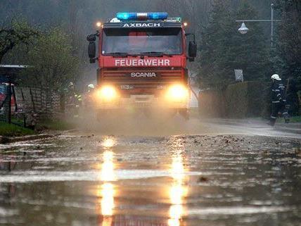 Unwetter in der Steiermark führten zu Vermurungen