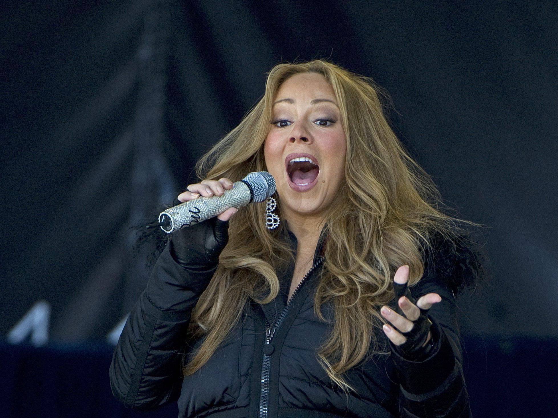 Mariah Carey bedankte sich zwar brav in Ischgl, für eine Zugabe reichte die Liebe dann aber doch nicht