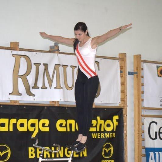 Die Meiningerin Adriana Mathis hat einen neuen nationalen Rekord aufgestellt.