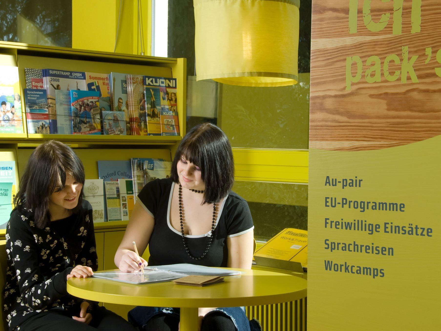 Seit 20 Jahren finden Vorarlbergs Jugendliche Informationen von A bis Z im aha.