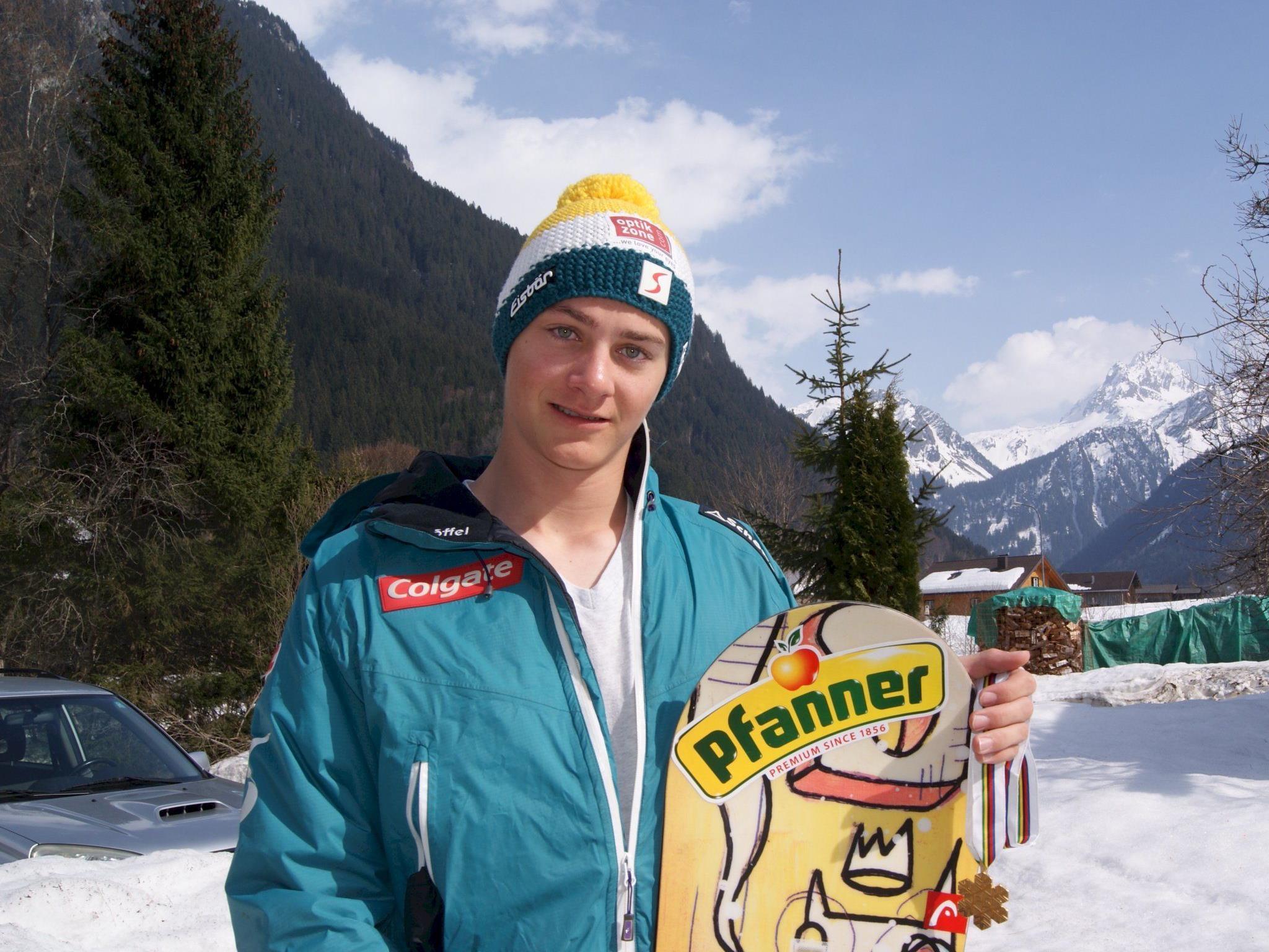 Der frischgebackene Junioren Weltmeister Alessandro Hämmerle.
