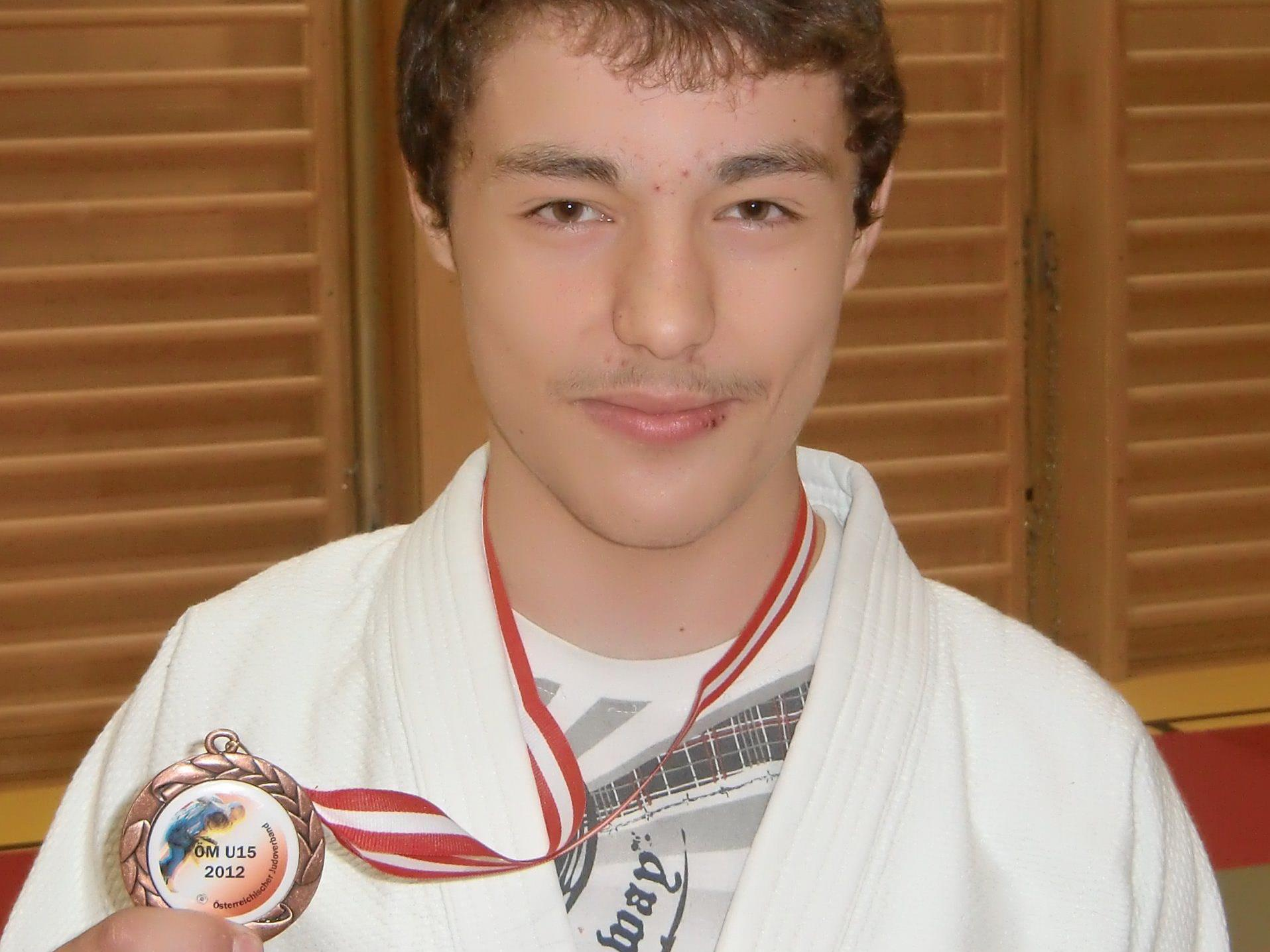 Ali Vitaev konnte sich bei den Staatsmeisterschaften in Villach ganz vorne platzieren.